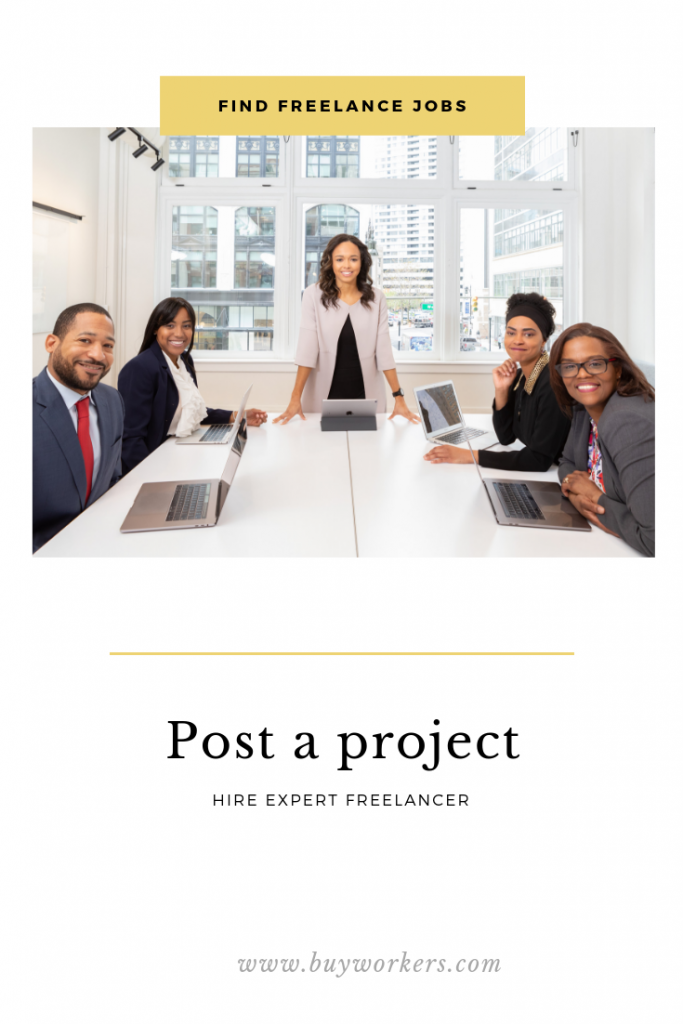 Post freelance jobs & projects