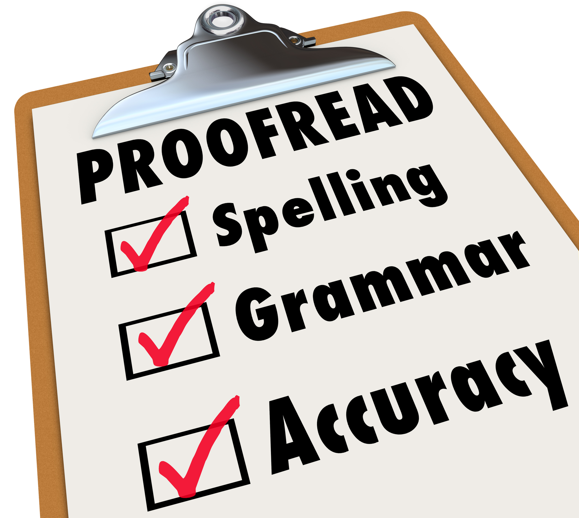 I Will Proofread And Edit To Perfection