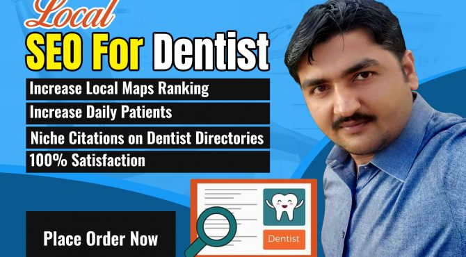 I will create 25 niche citations for dentist practice SEO
