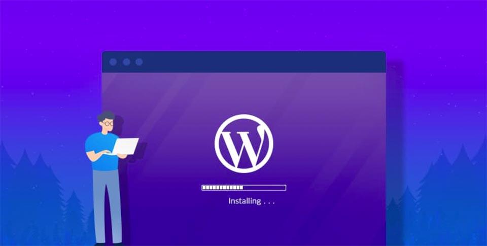 I will install wordpress, setup theme, do customization