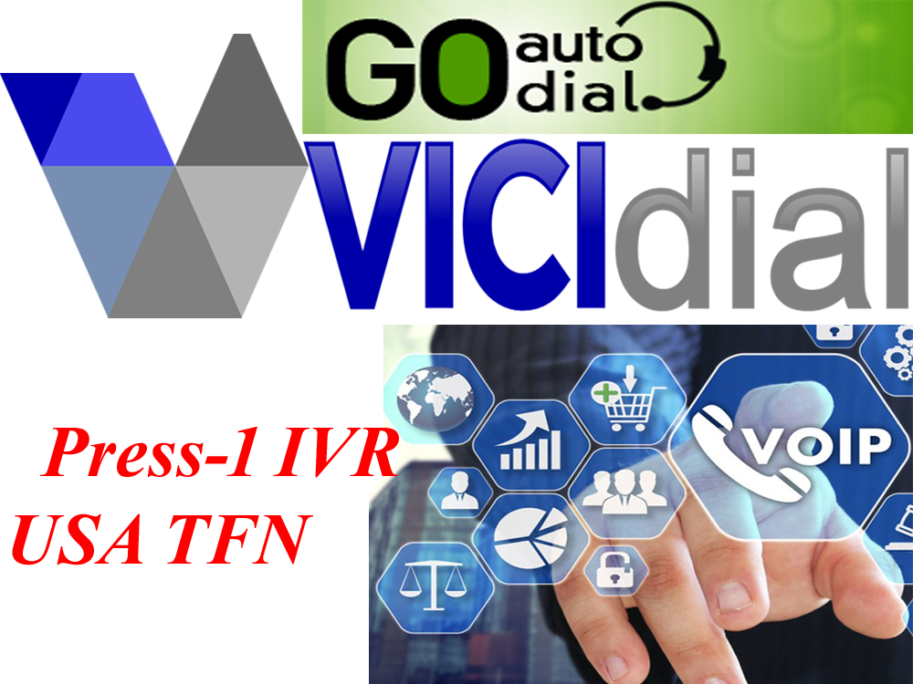 vicidial / sip minutes / usa toll free